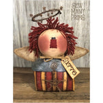 Americana Angel Raggedy Shelf Sitter