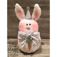 CLEARANCE - Vintage Winter Bunny Kit - Sew Many Prims