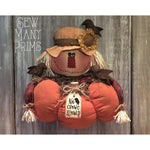 smp-089 Scarecrow Door Greeter Pattern - Sew Many Prims