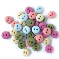 "YARD SALE - 1/4"" button variety, 40/pk - Sew Many Prims"