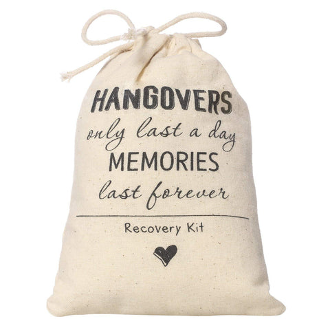 Bachelorette Party Hangover Kit Bags