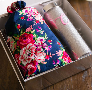 Bridesmaid Robe & Tumbler Gift Set