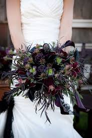 Darker Bridal Flowers