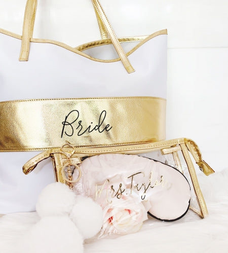 Cassie Clear Cosmetic Bag