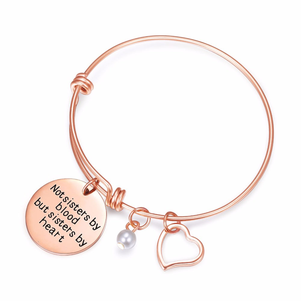 Sister of My Heart Bangle Charm