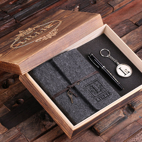 4 Pieces Keepsake Box Set