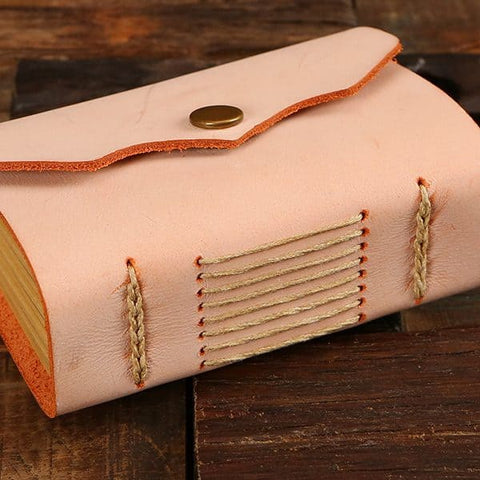 Shawl & Leather Journal Gift Set
