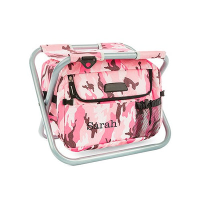 Unique bridesmaids gifts pink cooler chair