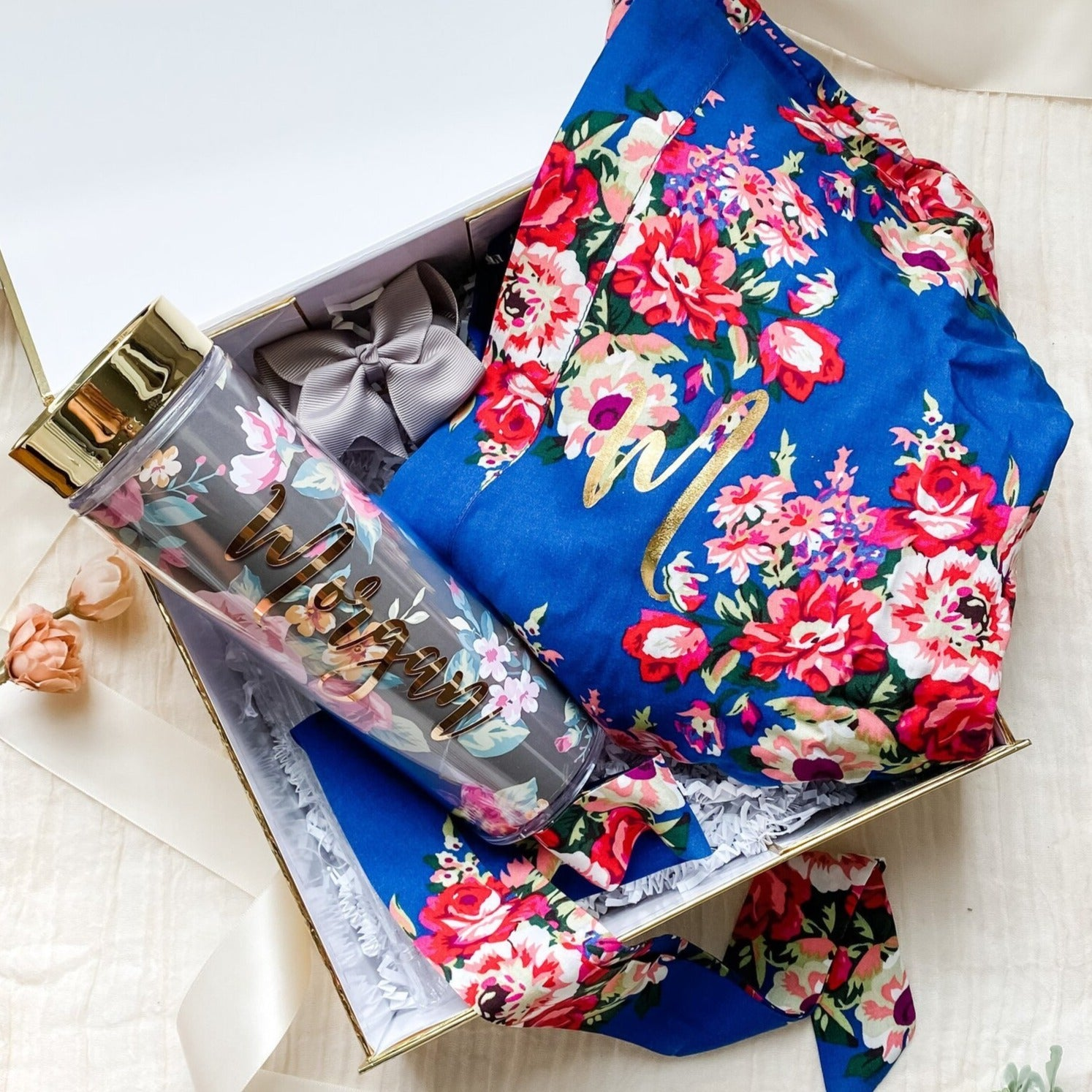 Floral Bridesmaid Gift Box