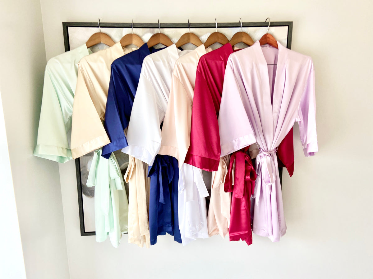 Royal Satin Robe