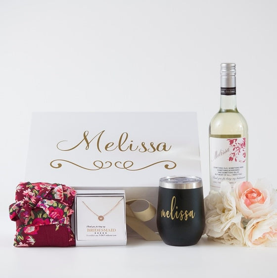 16 Best Bridesmaid Gift Boxes And Sets Free Personalization Today