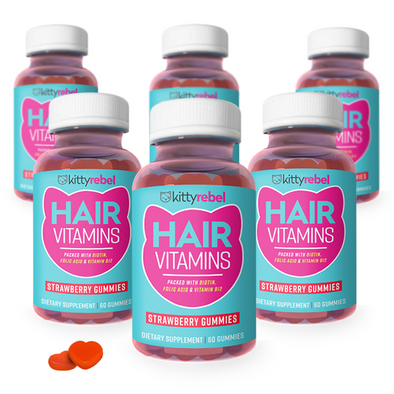 Kitty Rebel Hair Gummies - 6 Months