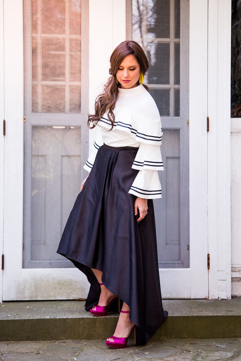 Liylah is the source for Modest Tznius Evening Wear Gown Rentals