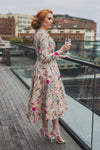 Pop up Floral Cocktail Dress
