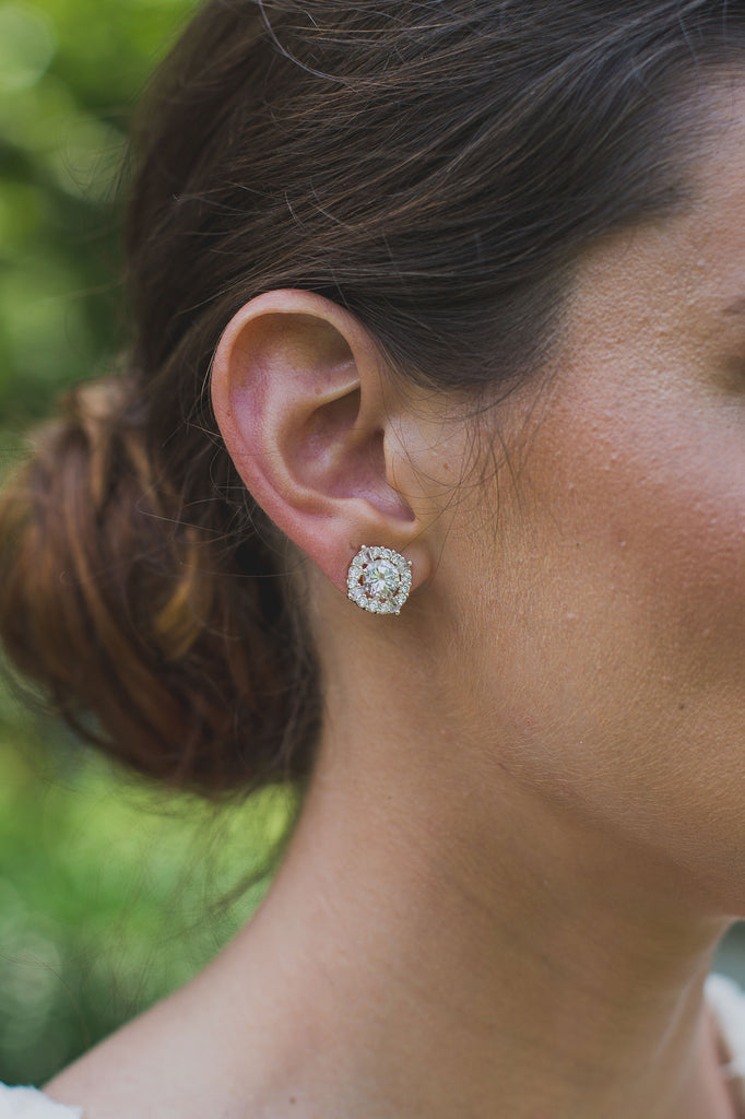 The Clustered Diamond Earring