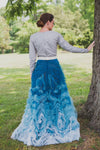 Misty Ruffled Ball Gown