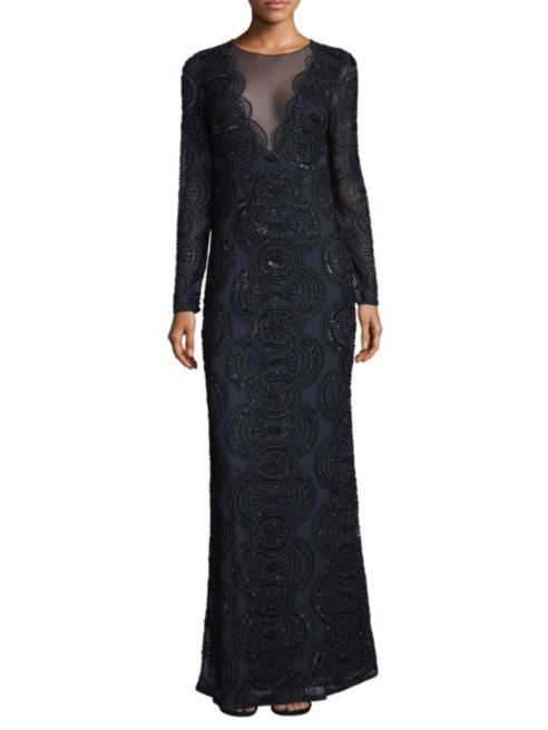 The Beaded Formal Gown