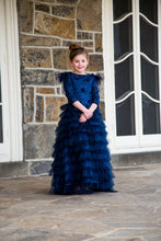 Girls Gown Tulle Tiered