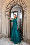 Emerald Enchanted Ball Gown