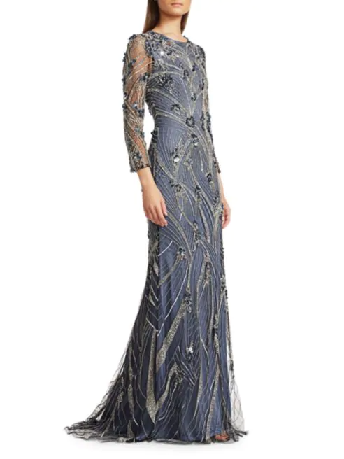 Microcrystal Gown