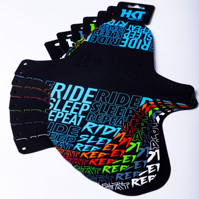 35Bikes Ride Sleep Repeat XL Mudguard