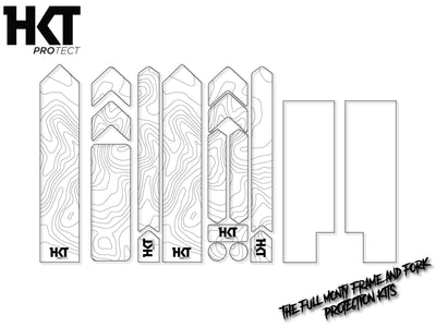 HKT Protect Full Monty Frame and Fork Protection Kit Contour