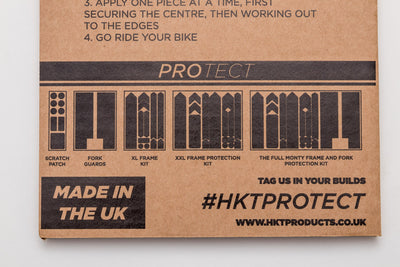 HKT Protect Full Monty Frame and Fork Protection Kit Black