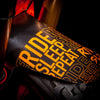 35Bikes Ride Sleep Repeat Front Mudguard Orange - Made In The UK