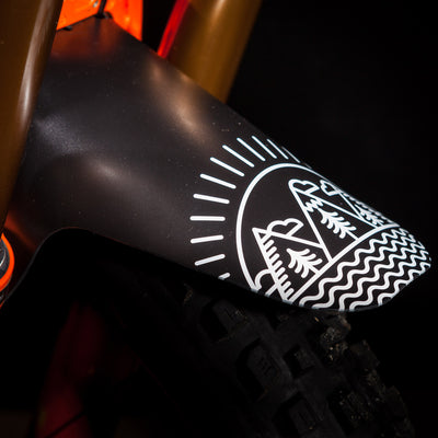 35Bikes Simple Life Front Mudguard - Made In the UK