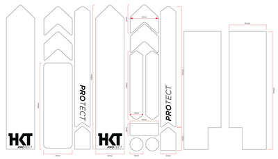 HKT Protect Full Monty Frame and Fork Protection Kit Simple Life