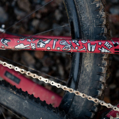 Vero Sandler Collab Full Monty Frame & Fork Protection Kit