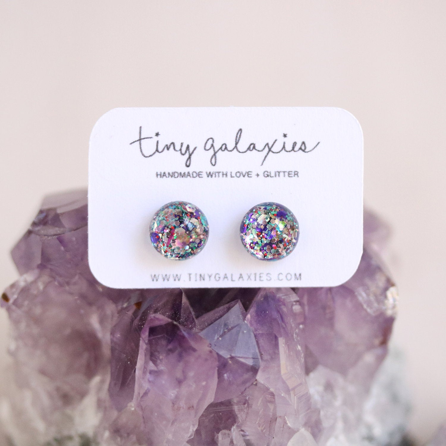 Tiny Galaxies Confetti Glitter Posts