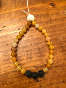 Infusion Mala Bracelet with Citrine
