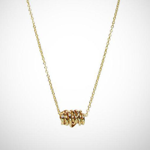Dianne Rodger Mini Gold Twist Necklace