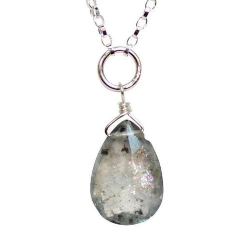 Dianne Rodger Silver Aquamarine Necklace
