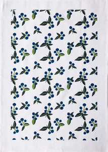 Tea Towel Wild Blueberry