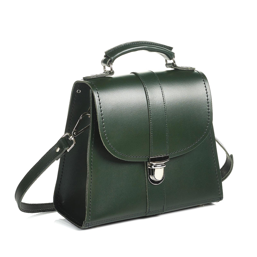 Ivy Green Leather Cross Body Bag