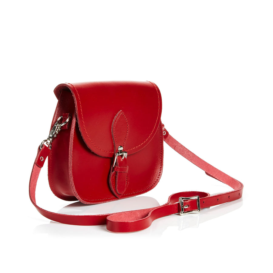 Red Leather Micro Saddle