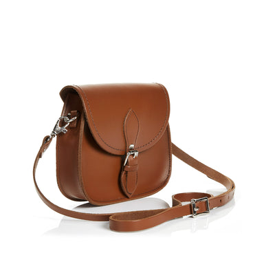 Chestnut Leather Micro Saddle