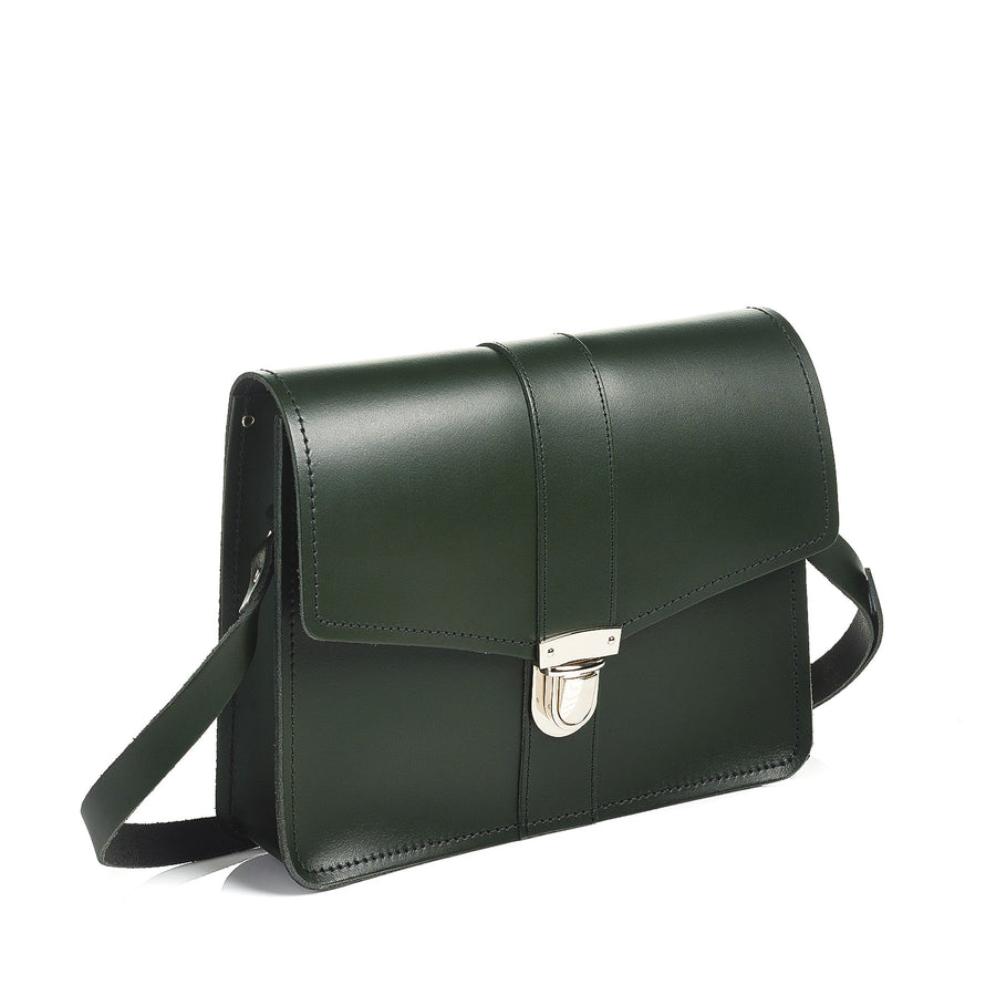 Ivy Green Leather Shoulder Bag