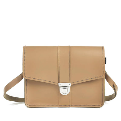 Iced Coffee Leather Shoulder Bag