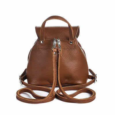 Chestnut Leather Backpack