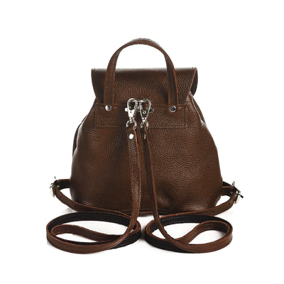 Gingerbread Leather Backpack