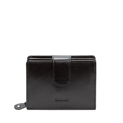 Black Leather Mini Purse - Accessories - Zatchels