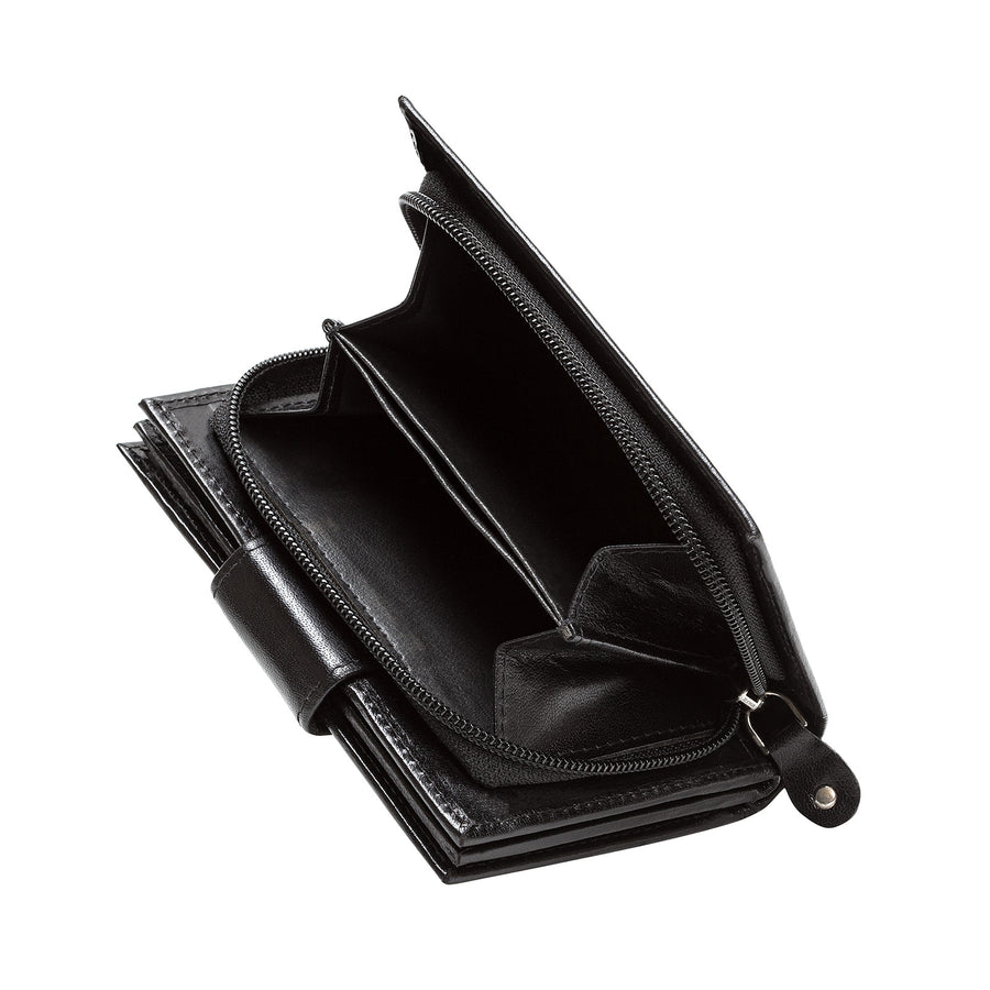 Black Leather Purse - Accessories - Zatchels