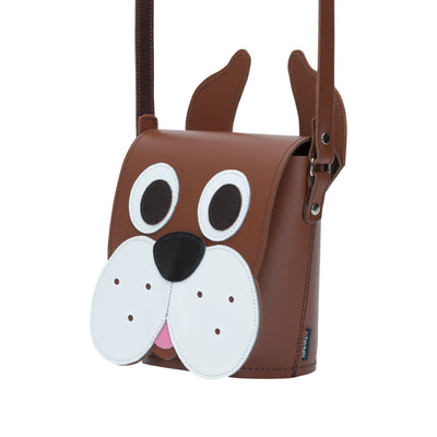 Buster Dog Animal Leather Novelty Bag