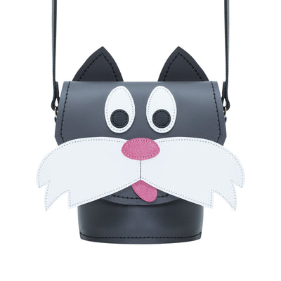 Chester Cat Leather Bag