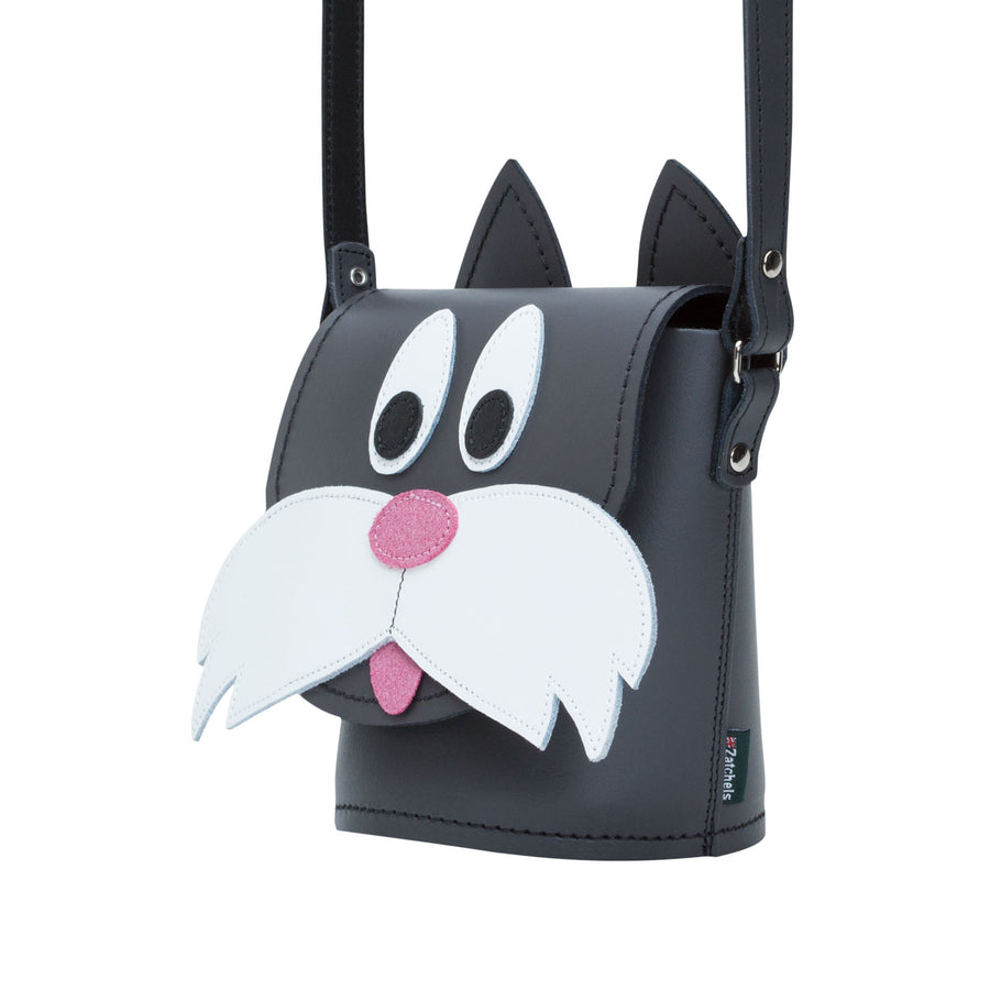 Chester Cat Animal Leather Novelty Bag