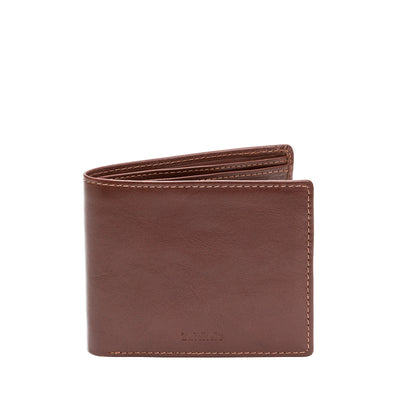 Chestnut Leather Bifold Wallet - Accessories - Zatchels