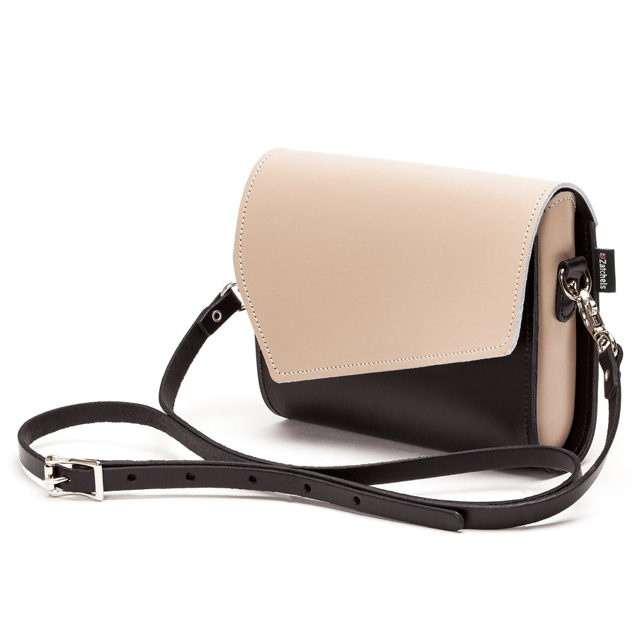 Cafe Noir Leather Clutch